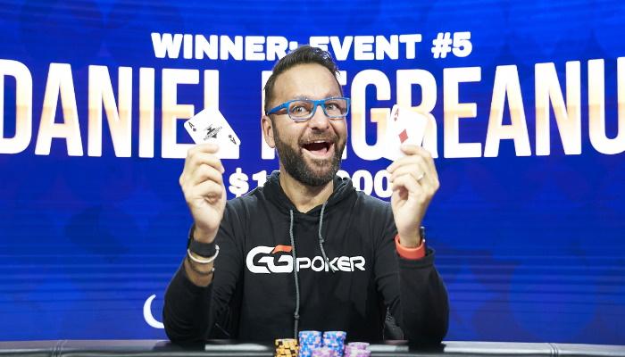 Daniel Negreanu 2021 Poker Masters